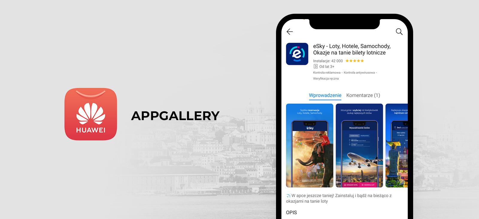 eSky zaproszony do współpracy  z Huawei w celu integracji aplikacji mobilnej z nowym asystentem
